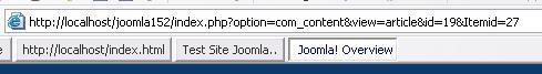 Joomla RC 1.5 RC2 steeds beter met SEO