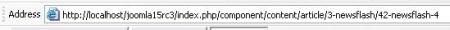 Joomla SEO Optie voor URL Rewrite in versie 1.5