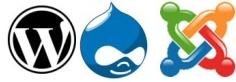 WordPress Drupal of Joomla